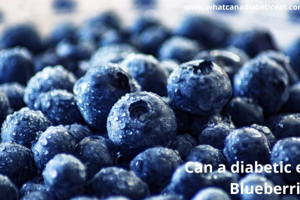 Can a diabetic eat blueberries?