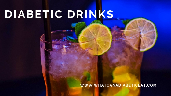 Diabetic drinks that you can drink with every meal!