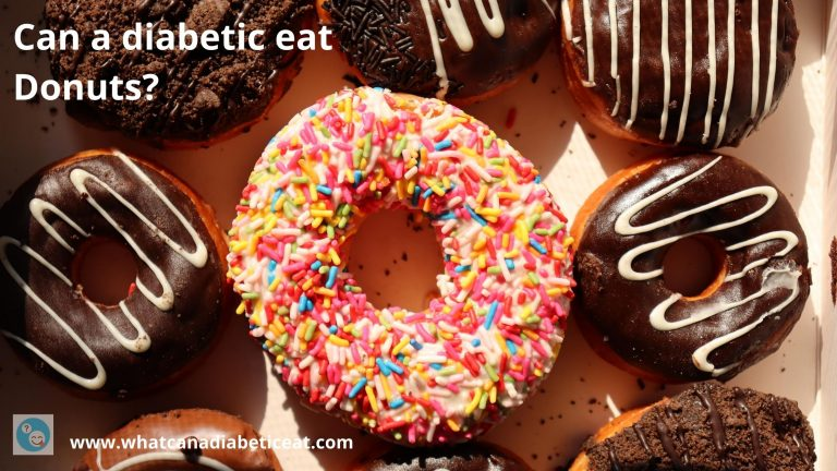 Can a diabetic eat Donuts?