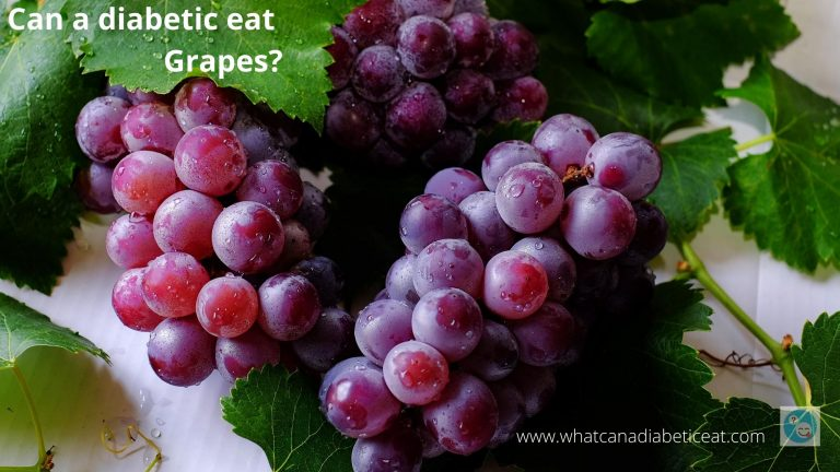Can a diabetic eat Grapes?