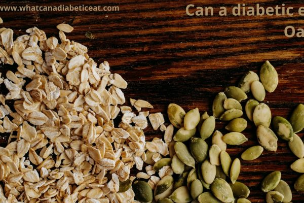 Can a diabetic eat Oats?