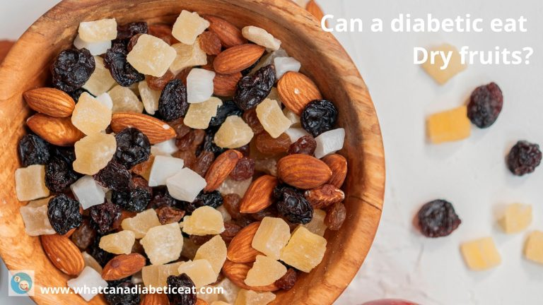 Can a diabetic eat Dry fruits