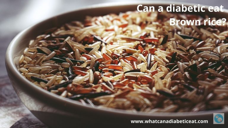 Can a diabetic eat Brown rice?