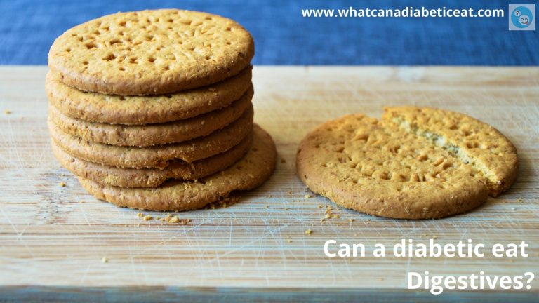 Can a diabetic eat Digestives?