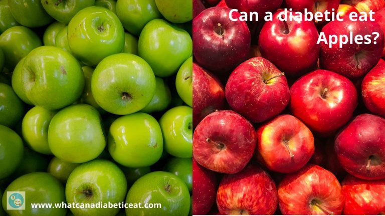 Can a diabetic eat Apples?