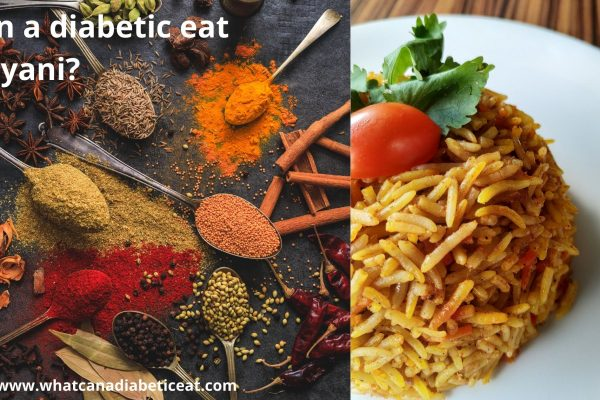 Can a diabetic eat Biryani?