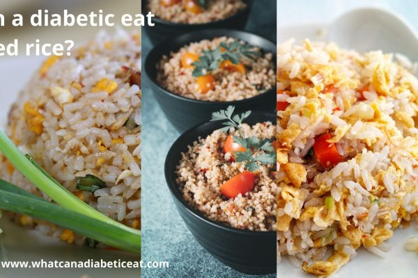 Can a diabetic eat Fried rice?