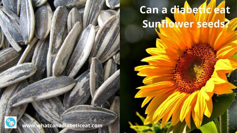 Can a diabetic eat Sunflower seeds