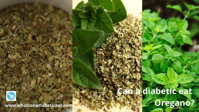 Can a diabetic eat Oregano