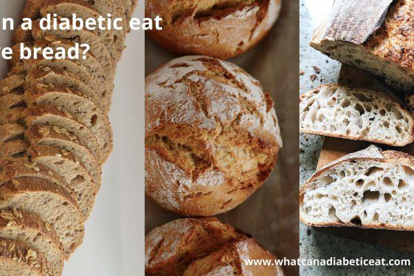 Can a diabetic eat Rye bread?